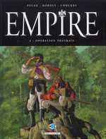 Empire – cycle 1, T3 : Opération Suzerain (0), bd chez Delcourt de Pécau, Kordey, Chuckry