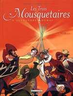 Les trois mousquetaires T2, bd chez Delcourt de Dufranne, Morvan, Ruben, Galopin