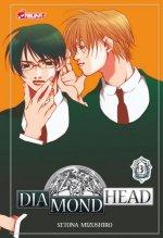 Diamond head T3, manga chez Asuka de Mizushiro