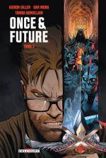 Once and Future T2, comics chez Delcourt de Gillen, Mora, Bonvillain