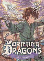 Drifting dragons T5, manga chez Pika de Kuwabara
