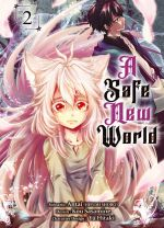 A safe new world T2, manga chez Komikku éditions de Antai, Sasamine