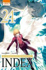 A certain magical index T24, manga chez Ki-oon de Kamachi, Kogino
