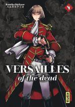 Versailles of the dead T4, manga chez Kana de Suekane