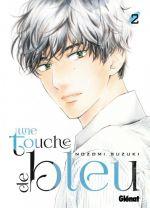 Une touche de bleu T2, manga chez Glénat de Suzuki