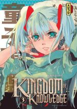 Kingdom of knowledge T3, manga chez Kana de Oda
