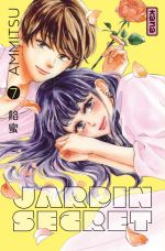 Jardin secret T7, manga chez Kana de Ammitsu