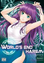 World's end harem T11, manga chez Delcourt Tonkam de Link, Shôno