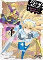 Dan Machi Sword Oratoria T4, manga chez Ototo de Omori, Yagi