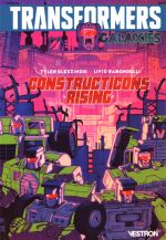Transformers Galaxies T1 : Constructicons Rising (0), comics chez Vestron de Bleszinski, Ramondelli, Burcham, Coller
