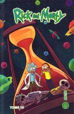 Rick and Morty T10, comics chez Hi Comics de Ellerby, Starks, Graley, Trujillo, Dewey, Pacheco, Howard, Pueste, McGinty, Abrego, Williams, Cannon, McLean, Stern, Filardi
