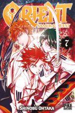 Orient - Samurai quest T7, manga chez Pika de Ohtaka