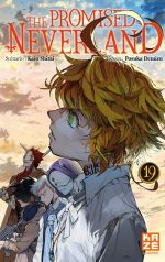 The promised neverland T19, manga chez Kazé manga de Shirai, Demizu