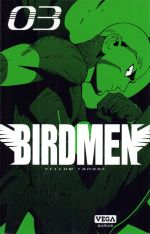 Birdmen T3, manga chez Dupuis de Tanabe