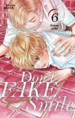 Don't fake your smile T6, manga chez Akata de Aoki