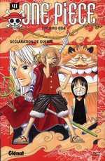 One Piece T41 : Déclaration de guerre (0), manga chez Glénat de Oda