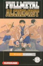 Fullmetal Alchemist T15, manga chez Kurokawa de Arakawa