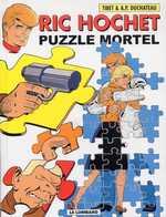 Ric Hochet T74 : Puzzle mortel (0), bd chez Le Lombard de Duchateau, Brichau, Tibet, Brichau