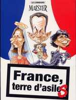 L'actu tue T2 : France, terre d'asiles (0), bd chez Le Lombard de Maëster