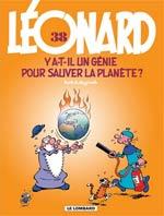Léonard T38 : Y a t-il un génie pour sauver la planète ? (0), bd chez Le Lombard de de Groot, Turk, Kael