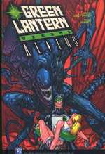 Green Lantern versus Aliens, comics chez Wetta de Marz, Leonardi, Stewart, Perkins