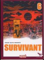 Survivant T6, manga chez Milan de Saïto
