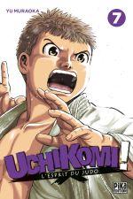 Uchikomi - L'esprit du judo T7, manga chez Pika de Muraoka