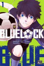 Blue lock T1, manga chez Pika de Kaneshiro, Nomura