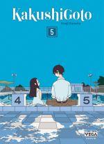 Kakushigoto T5, manga chez Dupuis de Kumeta