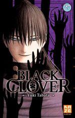 Black clover T27, manga chez Kazé manga de Tabata