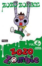 Zozo zombie T4, manga chez Dupuis de Nagatoshi