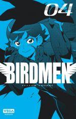 Birdmen T4, manga chez Dupuis de Tanabe