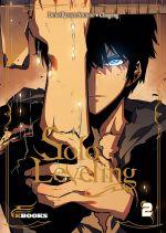 Solo leveling T2, manga chez Delcourt Tonkam de Chucong, Dubu - Studio Redice