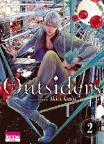 Outsiders T2, manga chez Ki-oon de Kanou