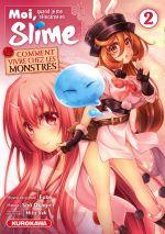 Moi quand je me réincarne en slime - Comment vivre chez les monstres T2, manga chez Kurokawa de Okagiri