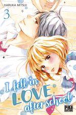 I fell in love after school T3, manga chez Pika de Mitsui
