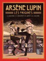 Arsène Lupin, les origines, bd chez Rue de Sèvres de Deschodt, Abtey, Gaultier, Galopin