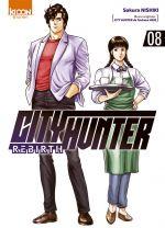 City Hunter rebirth T8, manga chez Ki-oon de Nishiki, Hôjô