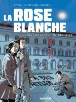 La Rose blanche, bd chez Plein vent de Vivier, Rizzato, Delvecchio, Perdriset, Lerolle