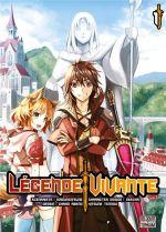 Légende vivante T1, manga chez Delcourt Tonkam de Ezogingitune, Abeno