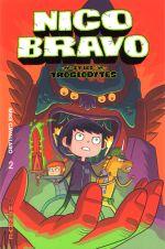 Nico Bravo T2 : Nico Bravo et les troglodytes (0), comics chez Kinaye de Cavallaro