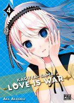 Kaguya-sama love is war T4, manga chez Pika de Akasaka
