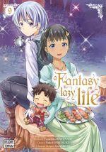 A fantasy lazy life  T9, manga chez Delcourt Tonkam de Watanabe, Hinotsuki, Ayakura