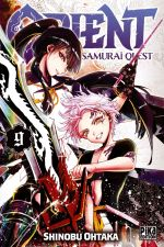 Orient - Samurai quest T9, manga chez Pika de Ohtaka