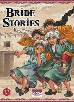 Bride stories T13, manga chez Ki-oon de Mori