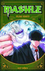 Mashle T4, manga chez Kazé manga de Kômoto