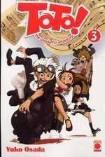 Toto ! The wonderful adventure T3, manga chez Panini Comics de Osada
