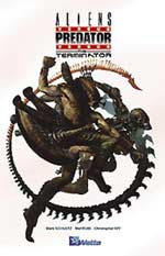 Aliens vs Predator vs Terminator, comics chez Wetta de Schultz, Rubi, Stewart