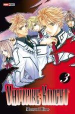 Vampire Knight T3, manga chez Panini Comics de Hino