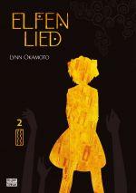 Elfen lied T2, manga chez Delcourt Tonkam de Okamoto